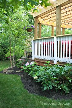 backyard garden idea
