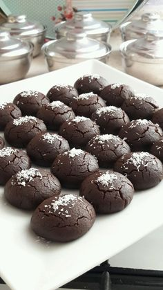 Gorgeous Brownie Cookies - Yummy Recipes - How to make a gorgeous Brownie Cookie Recipe? Illustrated explanation of this recipe in the p - Yummy Recipes, Healthy Cookie Recipes, Brownie Recipes, Chocolate Recipes, Sweet Recipes, Cake Recipes, Dessert Recipes, Yummy Food, Desserts