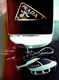#Prada #Luxury lifestyle #Keychain