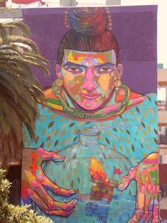 Arte mural, Valparaíso, Chile