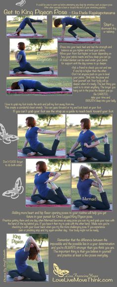 You need to do the pigeon pose for low back pain