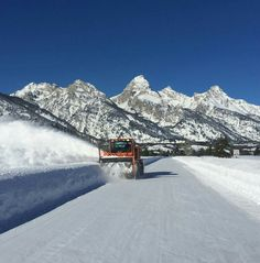 Winter in the Tetons
