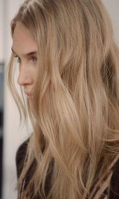 Spun gold hair! The softest blonde around. #wella #blondehair