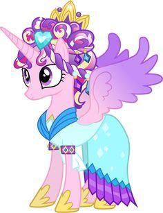 Princess Cadance as the Crystal Princess by =90Sigma on deviantART