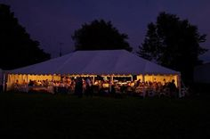Frame Tents with lighting Tent Wedding, Tents, Patio, Lighting, Gallery, Frame, Outdoor Decor, Beautiful, Night