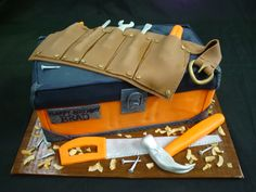 Tool Box Cake I made for my brother