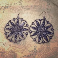 Lucky Brand filigree earrings Brand new. Super cute and versatile. If you love filigree as much as me then you'll love these! Lucky Brand Jewelry Earrings