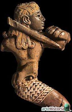 Hunter figure in ivory, from Kalkhu (Nimrub) 1000 BC (Museum in Baghdad, Iraq) Earth Science, Science And Nature, Ancient History, Art History, Bagdad, Bible 2, Epic Of Gilgamesh, Cradle Of Civilization, Ancient Near East
