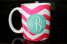 Monogram mug
