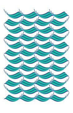 Persian typography  Illustration  Sea