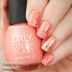 Orly - Positively Primeval Gaston  Decals from @bornprettynails