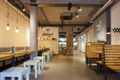 Jamy´s Burger Restaurant by why the friday