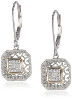 Sterling Silver and 14k Yellow Gold Art Deco with Diamond... https://www.amazon.com/dp/B008DBIVLI/ref=cm_sw_r_pi_dp_7guFxbBYWEEWE