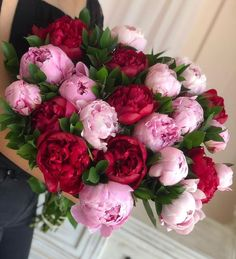 Fresh peonies wrapped up with wrapping paper! About stems per bouquet. Peonies And Hydrangeas, Purple Peonies, Peonies Garden, Peonies Bouquet, Peony, Purple Bouquets, White Peonies, Ranunculus, Flowers Nature