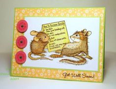 House Mouse Get Well