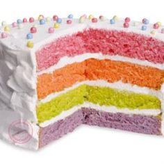 Rainbow cake http://blog.scrapcooking.fr/fr/rainbow-cake-facile-et-rapide