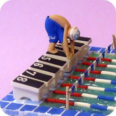 swimmer cake - Google Search