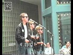 New vid of the FIRST HANSON show in 1992! HANSON 20th series. Watch for a new special vid at the start of each month. #hanson #HANSON20th www.hanson.net