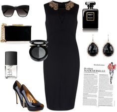 """""""work black outfit"""" by polyvore-fash ❤ liked on Polyvore"""