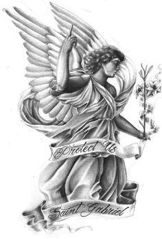 Protect Us Saint Gabriel
