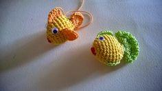 Dony's Creations by Donatella Saralli : Pesciolini colorati _ pattern free italiano