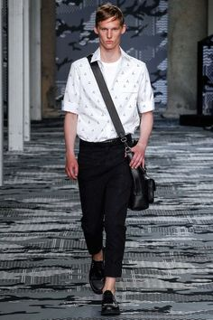 Neil Barrett Spring 2016 Menswear Collection - Vogue