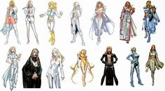 The Comic Book Hero: Emma Frost White Queen/Black Queen Costume history
