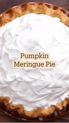 Pumpkin Recipes, Pie Recipes, Fall Recipes, Sweet Recipes, Baking Recipes, Holiday Recipes, Dessert Recipes, Simply Recipes, Fall Desserts