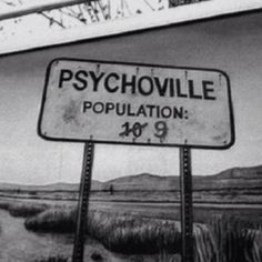 Great image. B&w makes it Hitchcock-like creepy. Population 9 indeed.