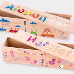 Name Puzzle - Wooden Name Puzzle - Baby Gift Ideas | Stuck on You ®