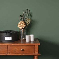 Bedroom Green, Floating Nightstand, My Room, Wallpaper, Interior, Table, House, Furniture, Home Decor