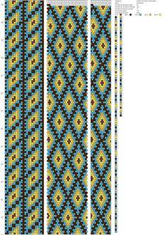 22 around bead crochet rope pattern
