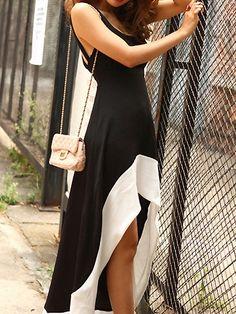 Comfort Asymmetrical Lap Tank Dress on BuyTrends.com