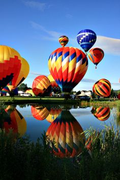 Stoweflake Hot Air Balloon Festival - breathtaking views!