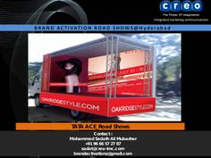 creo-imc-brand-activation-services by RoadShow Hyd via Slideshare