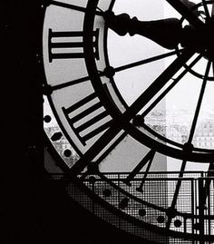 Paris Photography A moment in Paris black and white photography Living Room Art Clock at the Musee DOrsay black and white Paris print Paris Black And White, Black And White Picture Wall, Black And White Aesthetic, Black And White Pictures, Photocollage, Paris Photography, Artistic Photography, Photography Ideas, Aesthetic Colors