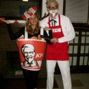 Coolest Colonel Sanders and KFC Homemade Costumes