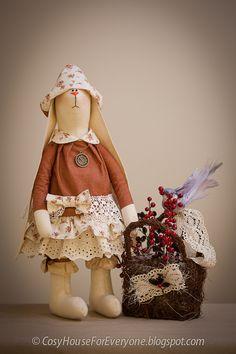 Подборка работ Натальи Семеновой - 6 Марта 2014 - Кукла Тильда. Всё о Тильде, выкройки, мастер-классы.