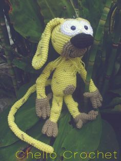 Marsupilami crochet/haken