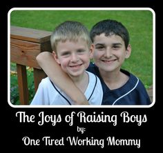 The Joys of Raising Boys by One Tired Working Mommy