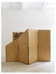 Imi Knoebel, Paravent, 1984, Kewenig Galerie