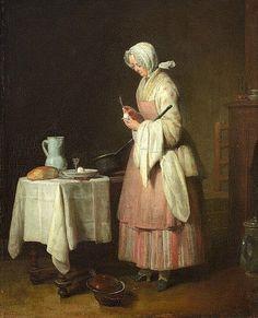 Jean Siméon Chardin The Attentive Nurse 1747