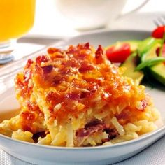 Breakfast Tailgating with Potato Bacon Casserole, and don't miss the Beer-mosas.