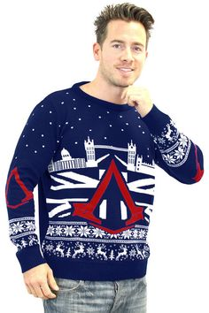 Official Assassin's Creed Syndicate Christmas Jumper