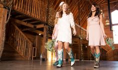 8 Reasons to Be a Bride Who Wears Cowboy Boots