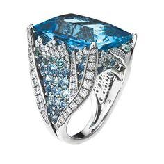 Mark Patterson Aquamarine ring
