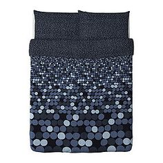 SMÖRBOLL Duvet cover and pillowcase(s) - Full/Queen (Double/Queen) - IKEA - For Hunter's Room