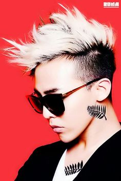 G-Dragon from Big Bang. I really like his hair! Daesung, Gd Bigbang, Bigbang G Dragon, Choi Seung Hyun, Yg Entertainment, G Dragon Hairstyle, Men's Hairstyle, Ringa Linga, Rapper