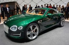 Bentley: una sportiva elettrica da 500 CV in arrivo