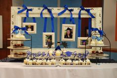 Graduation Party Themes And Some Examples That You Can Try Out : Graduation Party Themes For High School. Graduation party themes for high school. graduation party themes for party themes for high school,graduation party themes ideas Graduation Table Decorations, Graduation Party Themes, 8th Grade Graduation, College Graduation Parties, Graduation Open Houses, Graduation Celebration, Party Decoration, School Parties, Grad Parties